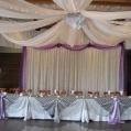 2 Backdrops & Head Tables